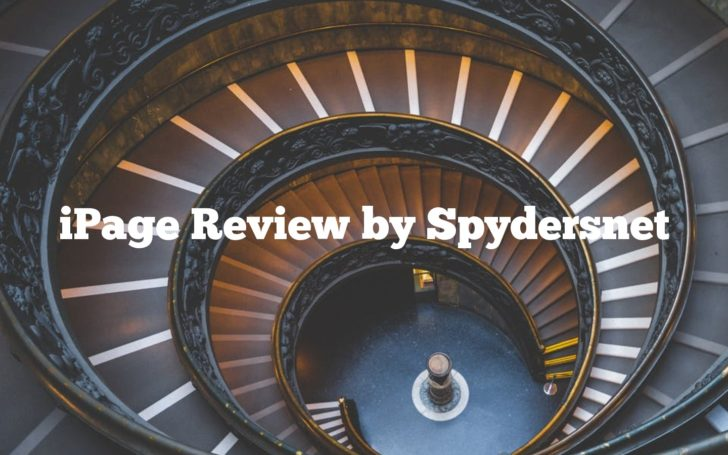 iPage Review by Spydersnet